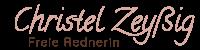 Schriftzug_Christel Zeißig_ Freie Rednerin-01